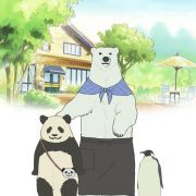 Кафе белого медведя / Shirokuma Cafe / Polar Bear Cafe все серии