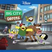 Большой город Гринов ( Семейка Грин в городе)  / Big City Greens все серии