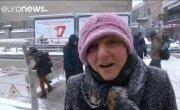 Бездомные — жертвы аномальных морозов в Европе (новости)