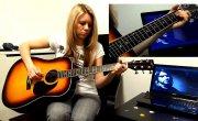 show MONICA Разбор #6 - Nirvana - Smells like teen spirit (tutorial ENG subs Fingerstyle)