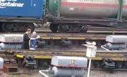 Реакция железнодорожников на освящение путей