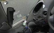 Моя первая авария. Съемка с GoPro
