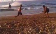 Развлечения на пляже :)