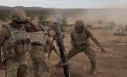Солдаты США и миномёт