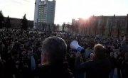 Белоруссия. Марш нетунеядцев в Молодечно.