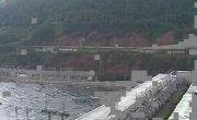 Красноярская ГЭС - сброс воды 07.2006