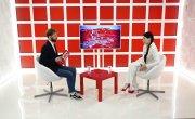 Интервью на 8 канале. Ирина Иванова, Артур Лукава.