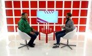 "Программа ""Интервью"" на Восьмом канале. Артур Лукава, Сергей Шахматов"