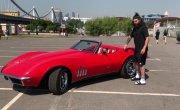 Chevrolet Corvette - Волга на спорте. Учимся водить Корвет.