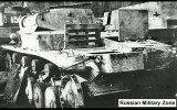 Уничтоженные германские танки
