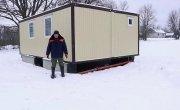 Как построить зимний дом в деревне по цене санузла в новостройке
