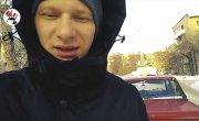Водитель Мерса, сосущий бензин у Жигулей, изобличён