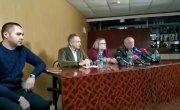 Освобождение Квачкова - пресс конференция. 2 часть