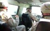 Реакция солдатов на упавшую гранату