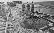 """Партизанский """"Клин"""". Как поезда пускались под откос без взрывчатки."""