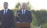 Выступление на открытии мемориального комплекса «Князь Александр Невский с дружиной»