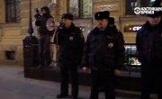 Задержаны участники схода за отставку Медведева.
