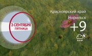 Погода в Красноярском крае на 03.09.2021