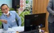 Председатель комиссии  сожрал  кусок документа, чтобы скрыть фальсификации в пользу Едра