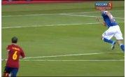 Евро-2012. Италия - Испания 0:3 (Гол: Торрес)