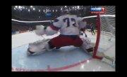 Хоккей  Супер сейв Бобровского !!!!!! в матче Россия-Швеция